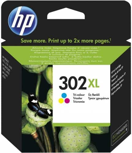 hp ink 302 col xl