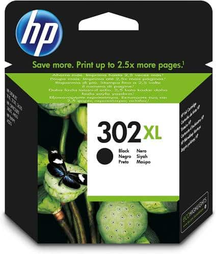 hp ink 302 black