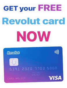 Get your FREE Revolut Card